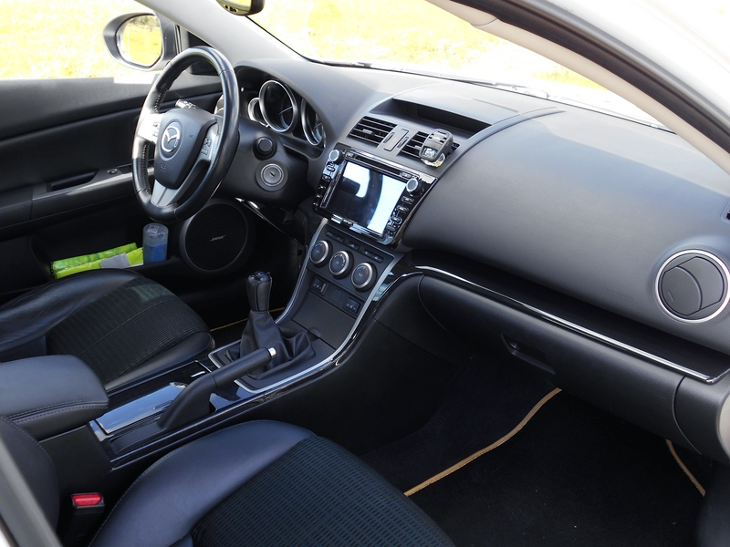 Mazda 6 Sport belső