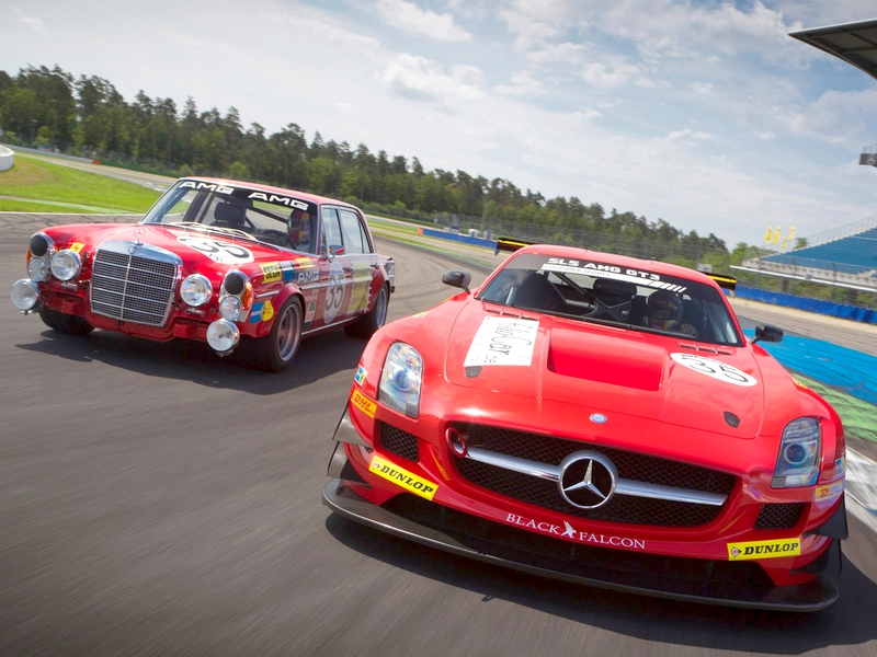 Photo of Mercedes generációk a pályán