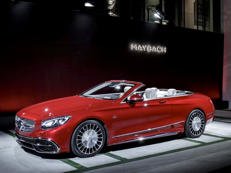 Photo of Mercedes-Maybach S650 Cabriolet