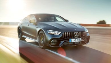 Photo of Mercedes-AMG GT 63 S 4MATIC+ 4-Door Coupé a pályán