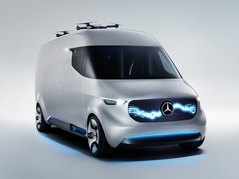 Photo of Mercedes-Benz Vision Van – futurisztikus kisteherautó