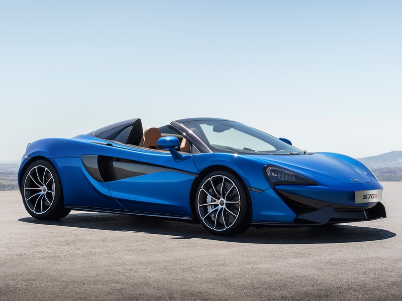 Photo of McLaren 570S Spider