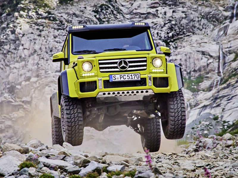 Photo of Mercedes-Benz G500 4×4²