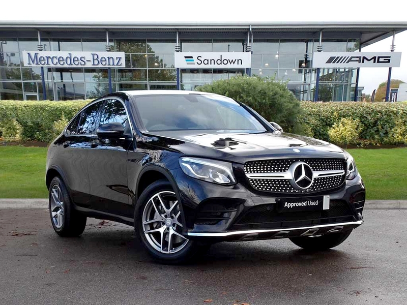Photo of Mercedes GLC Coupe a Sportverdában