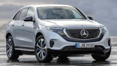 Photo of Mercedes-Benz EQC – tanulmányból széria
