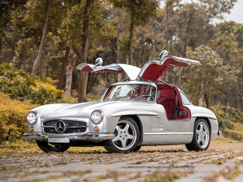 Photo of Mercedes-Benz 300SL a pályán