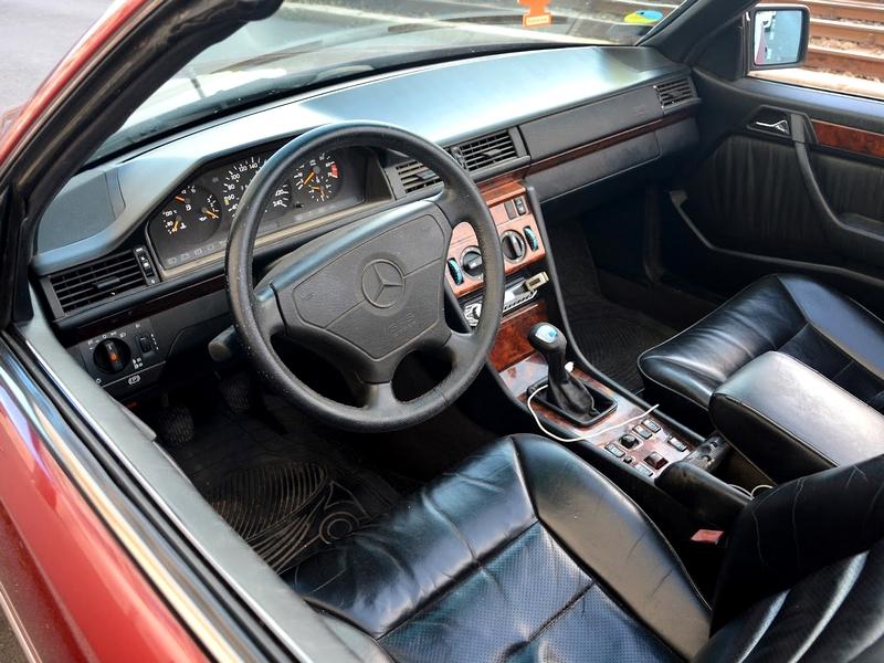 E200 Cabriolet belső