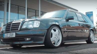 Photo of Mercedes-Benz E36T AMG – súlyos kalapács