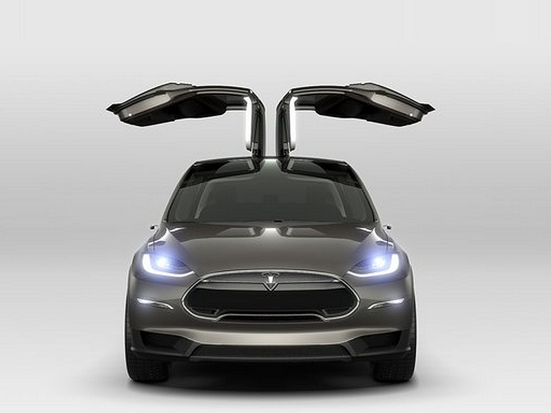 Photo of Sirályszárnyú crossover – Tesla Model X