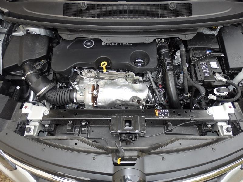 Opel Zafira motor
