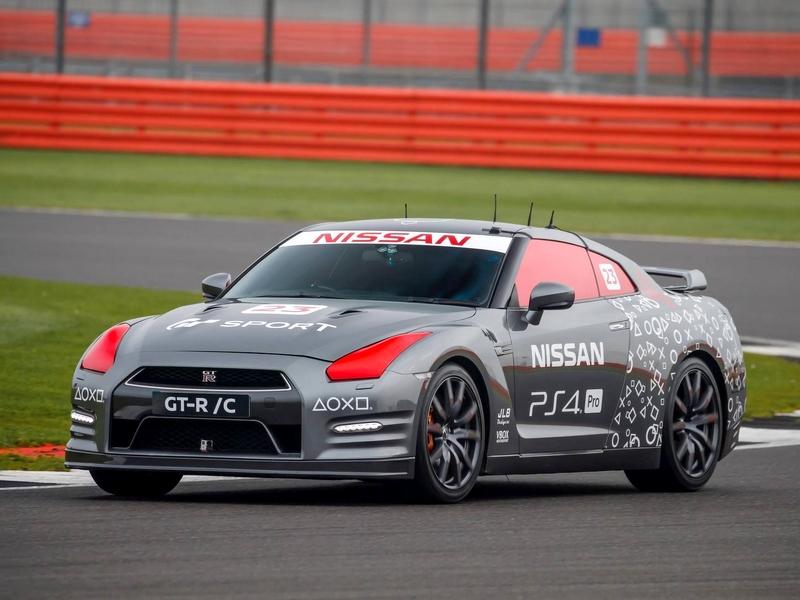 Photo of Életnagyságú távirányítós Nissan GT-R