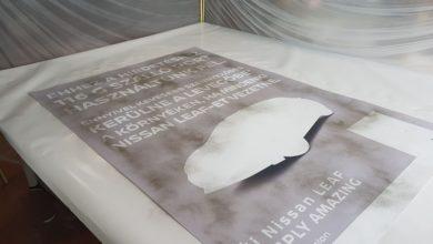Photo of Plakátművészet szálló porral