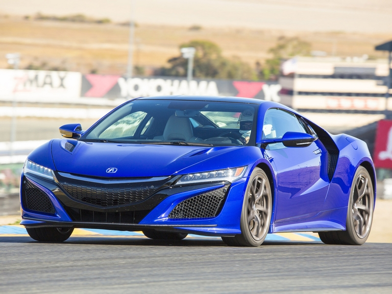 Photo of Acura NSX a pályán