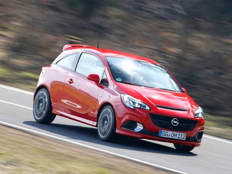 Photo of Opel Corsa OPC a SportVerdában