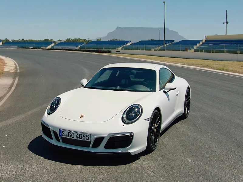 Photo of Porsche 911 Carrera 4 GTS