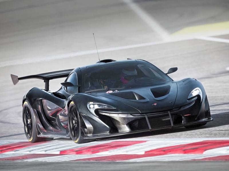 Photo of McLaren P1 GTR