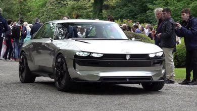 Photo of Mozgás közben látható a Peugeot E-Legend koncepció