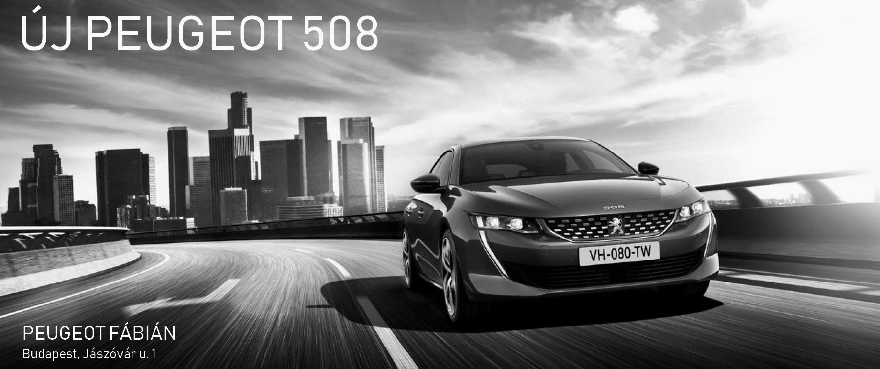 Megérkezett az új Peugeot 508 SW