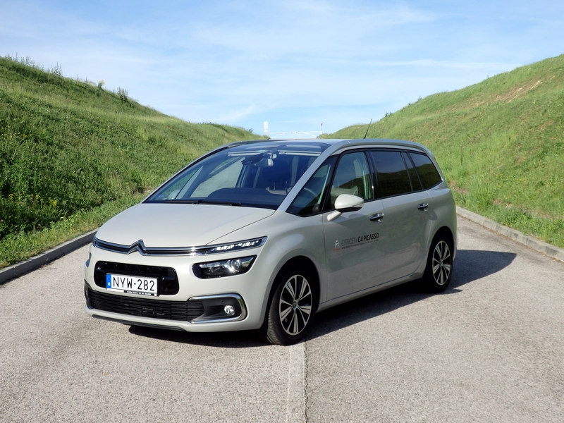 Photo of Citroën Grand C4 Picasso – Robotzsaru bárkája