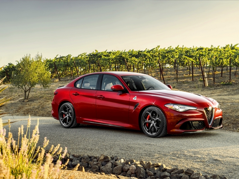 Photo of Alfa Romeo Giulia Quadrifoglio a SportVerdában