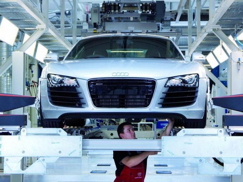 Photo of Így készül az Audi R8