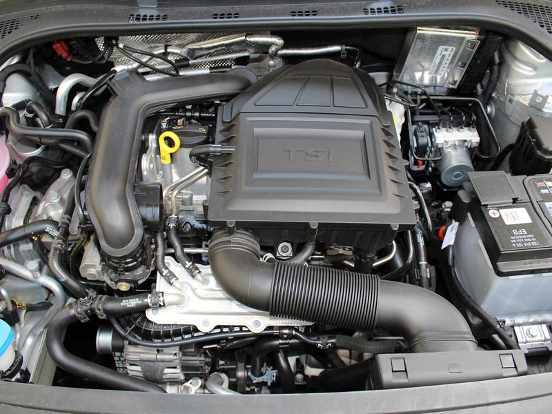 Škoda Rapid motor