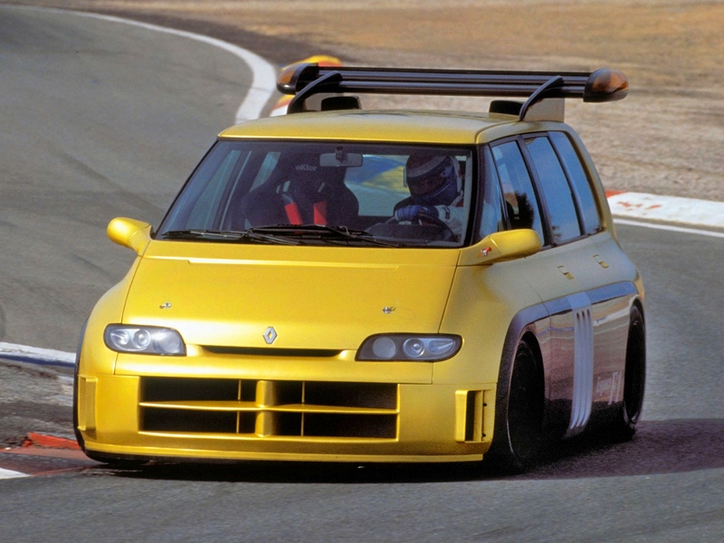 Photo of Renault Espace F1 Matra