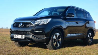 Photo of Ssangyong Rexton a Sportverdában