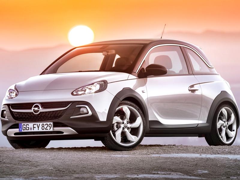 Photo of Opel Adam Rocks a SportVerdában