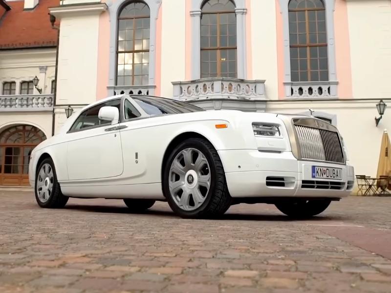 Photo of Rolls-Royce Phantom Coupé a SportVerdában