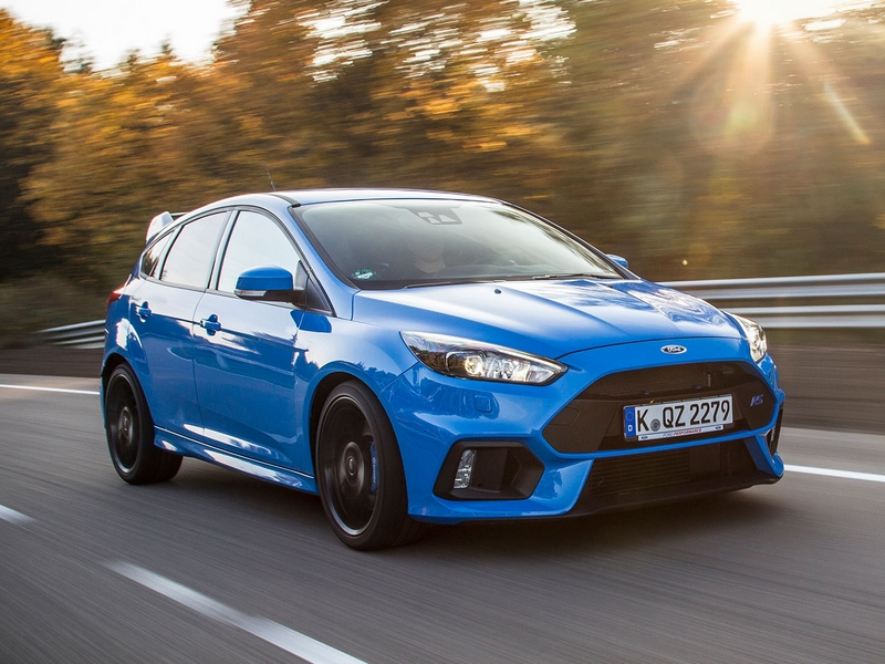 Photo of Ford Focus RS a tesztpályán