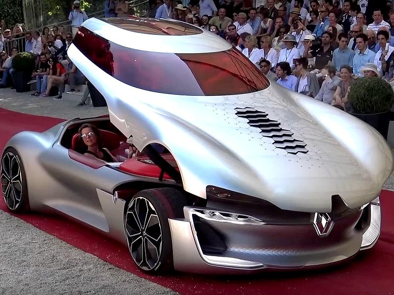 Photo of Renault Trezor a vörös szőnyegen
