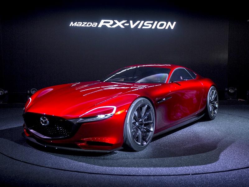 Photo of Mazda RX-Vision – sportos látomás