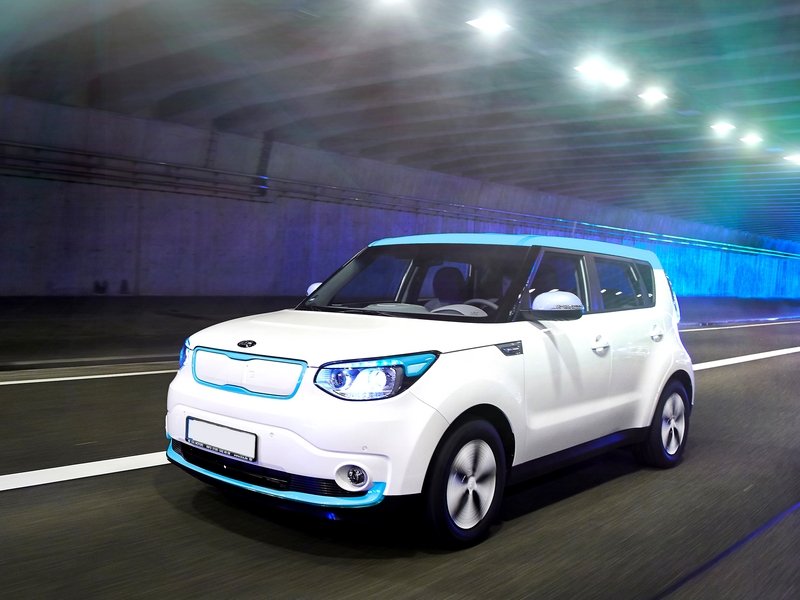 Photo of Kia Soul EV a SportVerdában