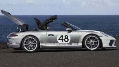 Photo of Porsche 911 Speedster Heritage Design