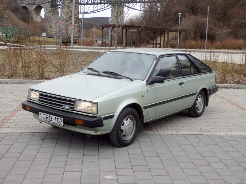 Photo of Nissan Sunny B11 Coupé – napos oldal