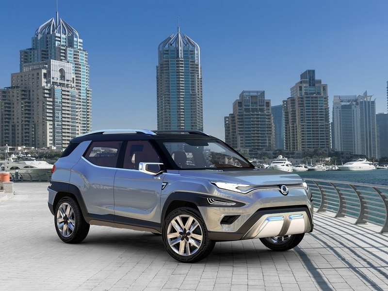 Photo of Ssangyong XAVL koncepció Genfben