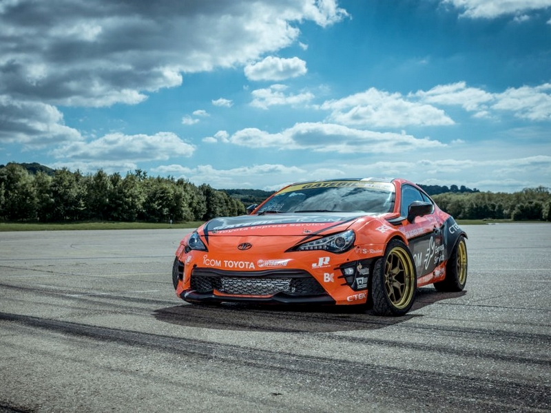 "Photo of Toyota GT86 ""űrdrift"""