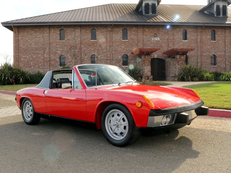 Photo of Porsche 914 Targa (1973)