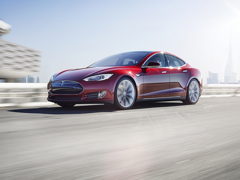 Photo of Tesla Model S a SportVerdában