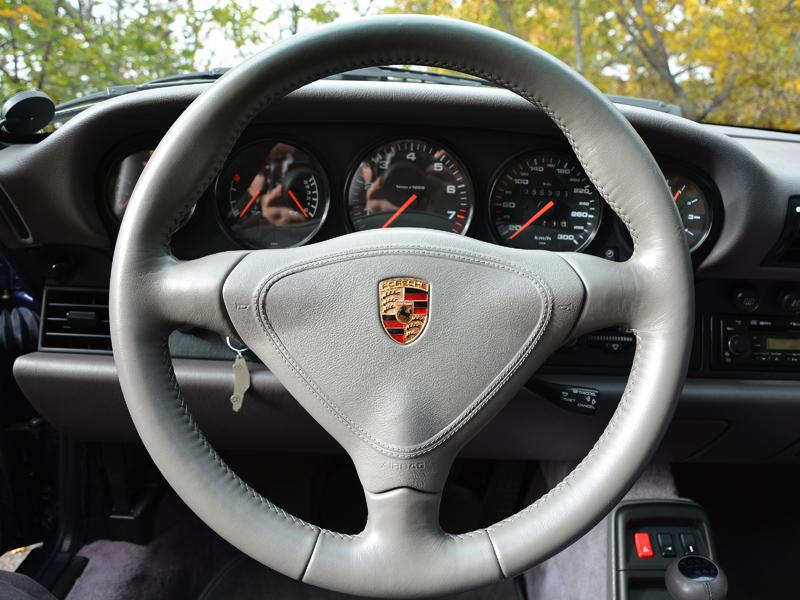 Porsche 911 belső