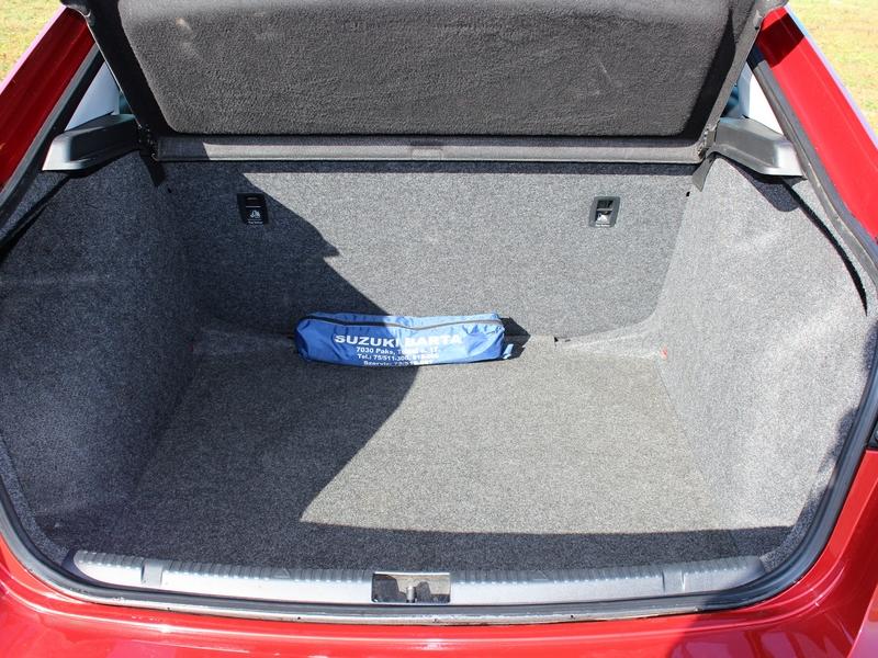 SEAT Toledo csomagtér
