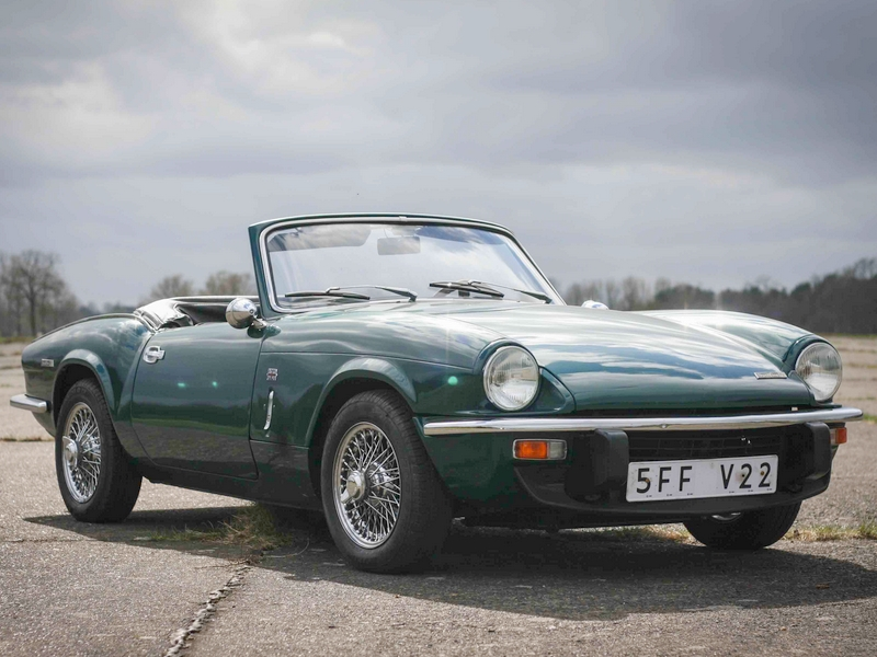 Photo of Triumph Spitfire