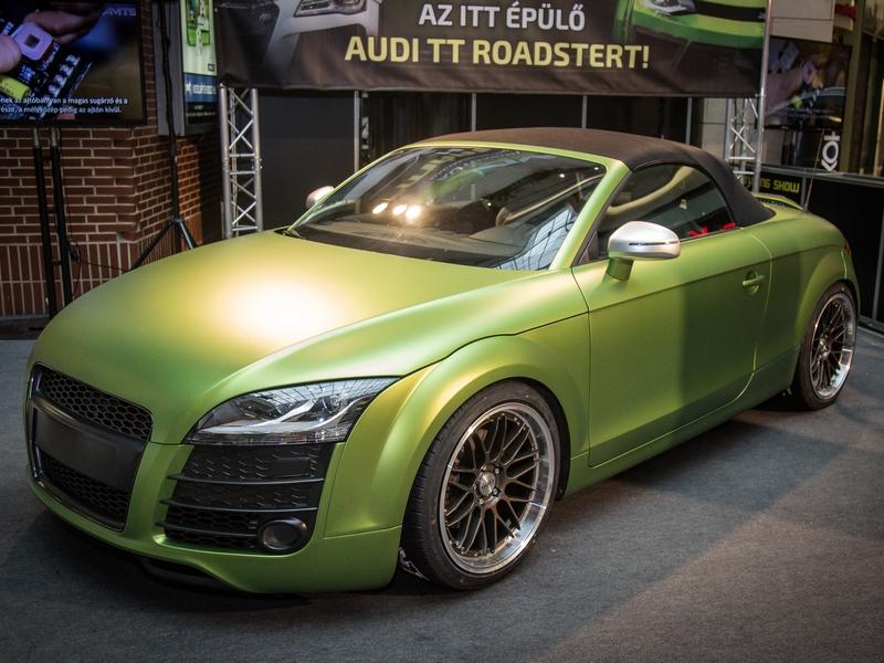 Photo of Plázában épült át az AMTS Audi TT-je