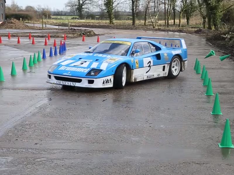 """Photo of Ferrari F40 GT """"Farmkhana"""""""