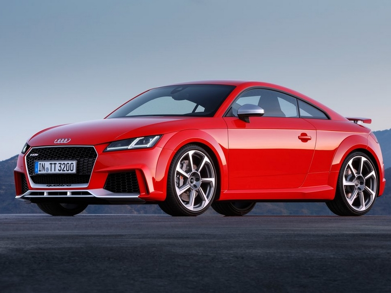 Photo of Audi TT RS Coupé a pályán