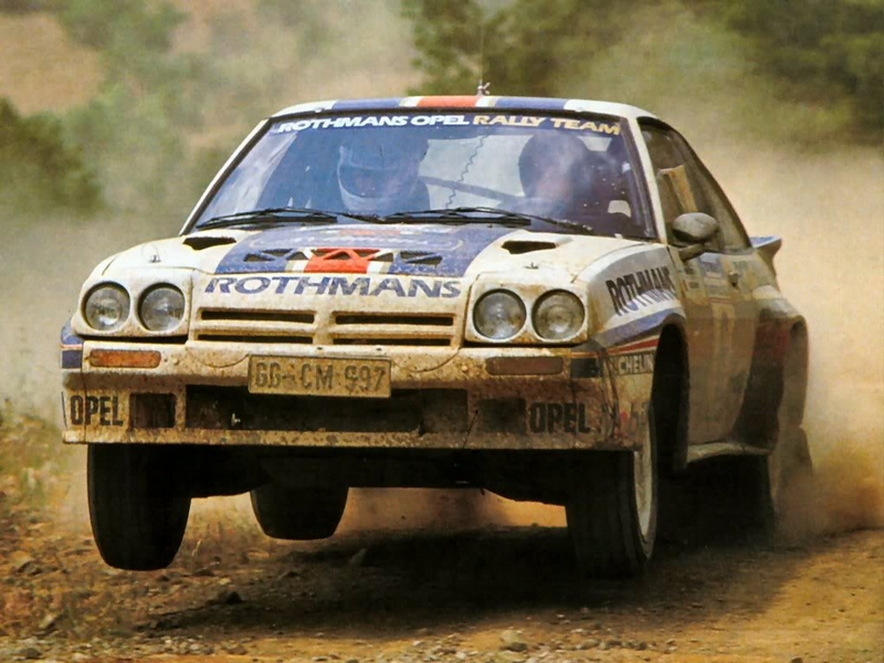 Photo of Opel Manta 400 – Manx Rally