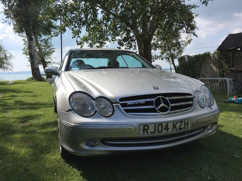 Photo of Mercedes-Benz CLK 320 AMG – tákoltan is csodás
