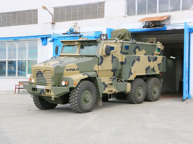 Photo of Ural-63099 Typhoon MRAP