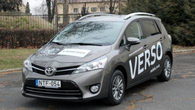Photo of Toyota Verso teszt – búcsú a bárkától